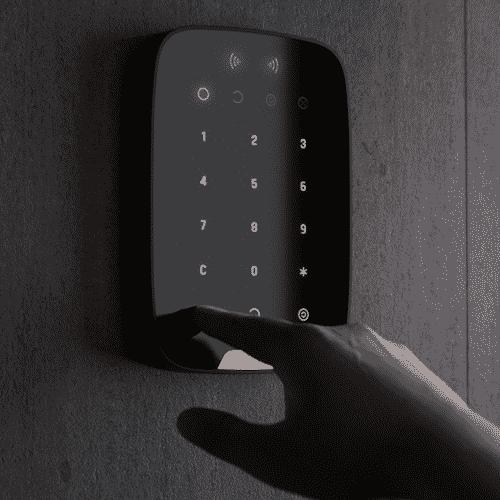 Ajax Keypad Plus Black Activation