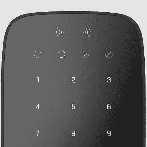 Ajax Keypad Plus Black RFID